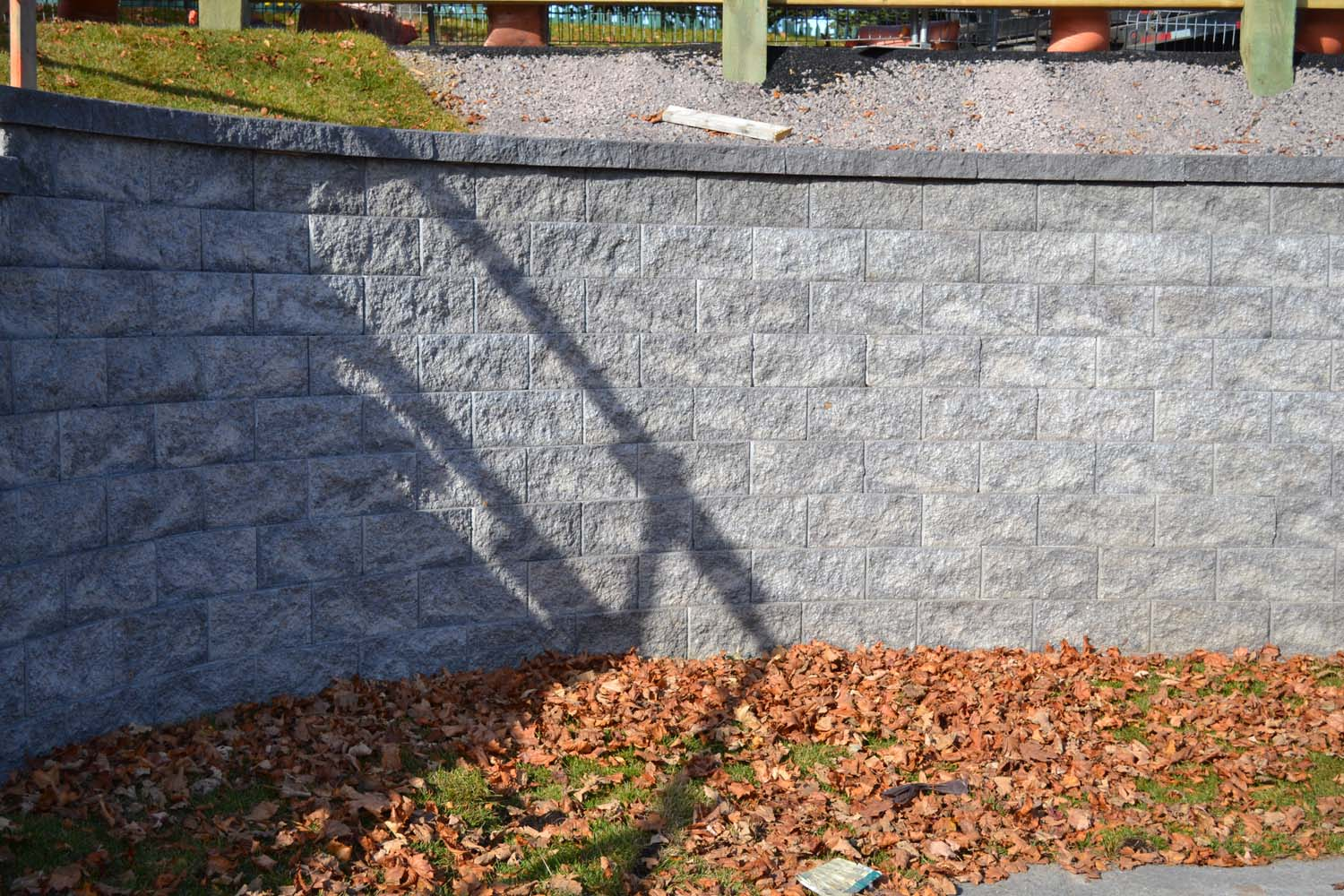 Retaining wall - Compac project 2