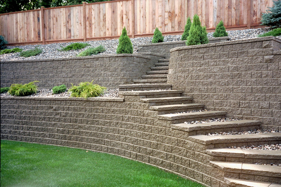 Retaining wall - Pisa2 project 9