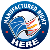 Manufactured right here logo