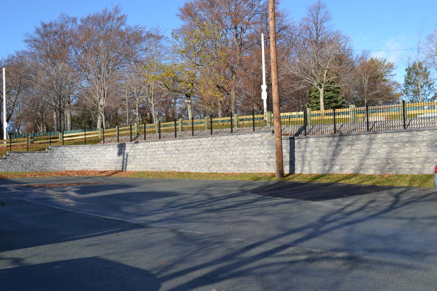 Retaining wall - Compac project 7