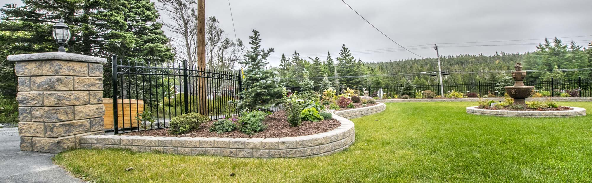 Retaining wall - Stackstone project 8