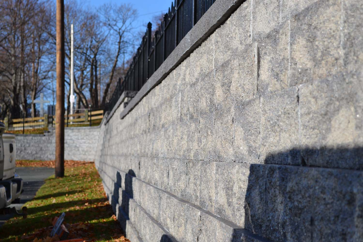 Retaining wall - Compac project 6