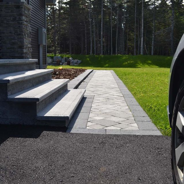 Paving stones - Colonnade - Project 1