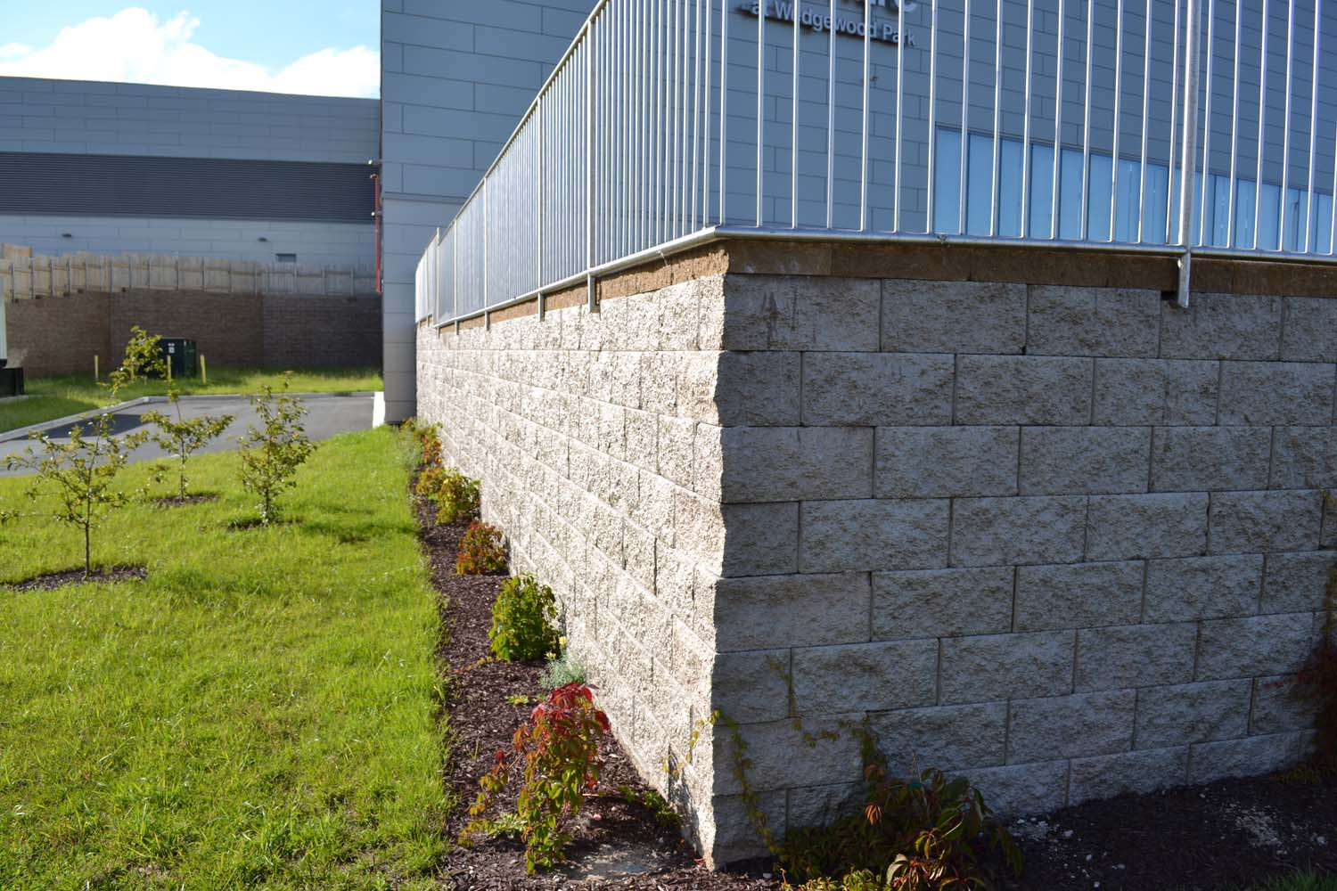 Retaining wall - Compac project 10
