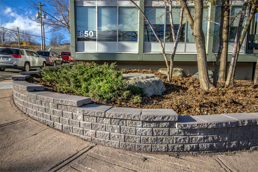 Retaining wall - Stackstone project 10